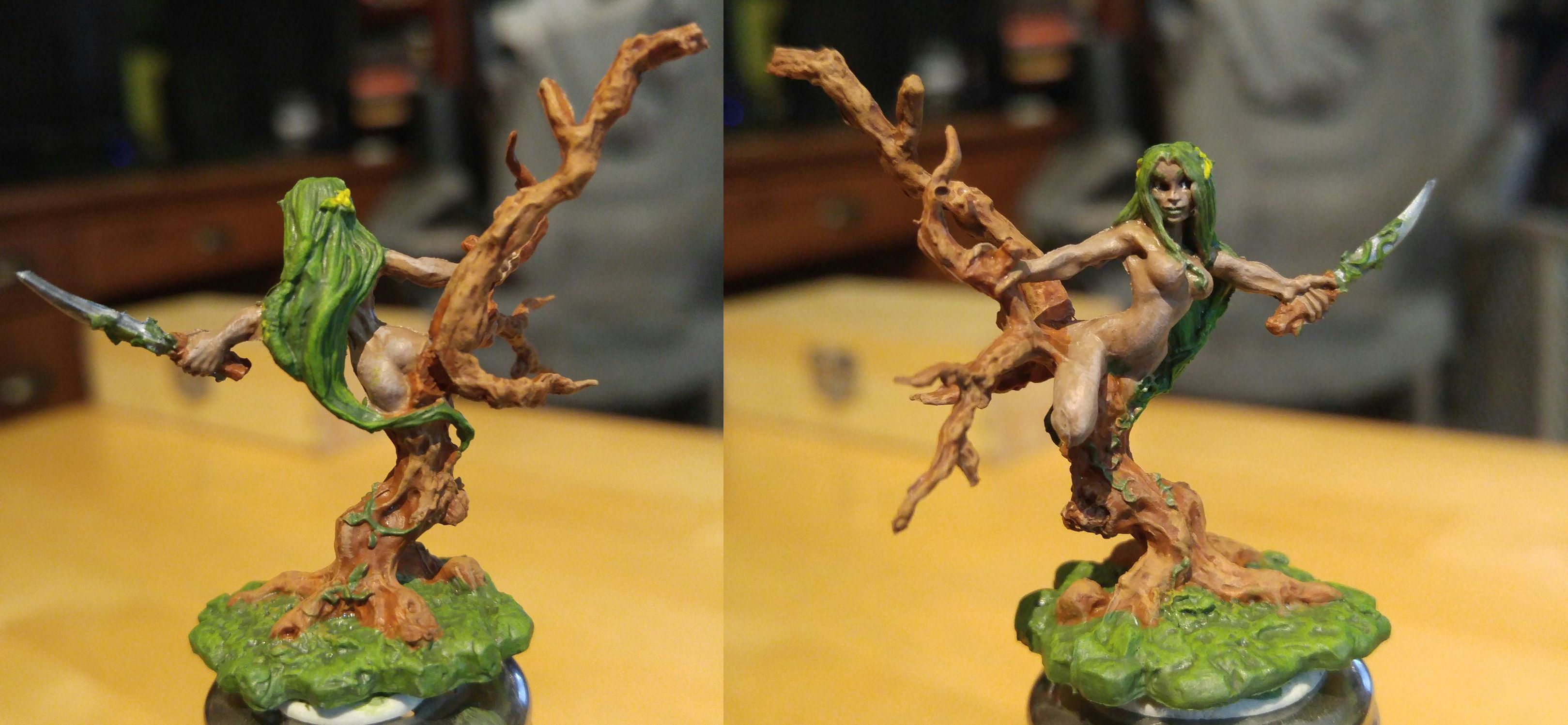 77265 Reaper Miniatures Bones Dryad Drys