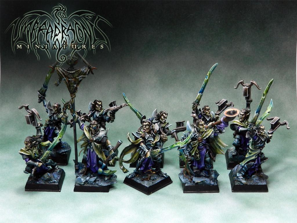 Dark Elves Menghils Manflayers
