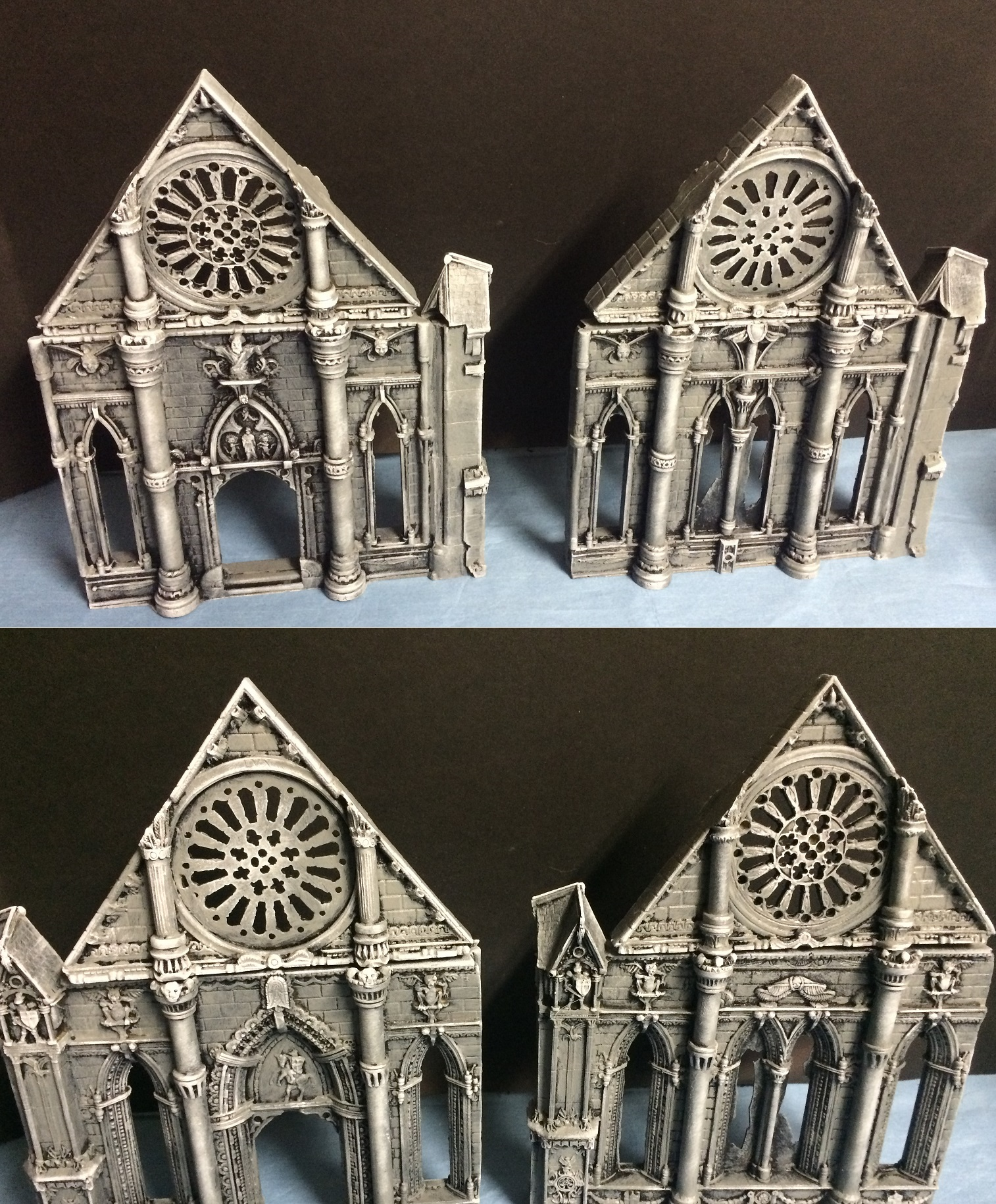 Armorcast cathedrals building ruins