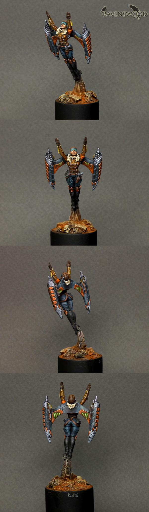Iron Empire Jet Girl