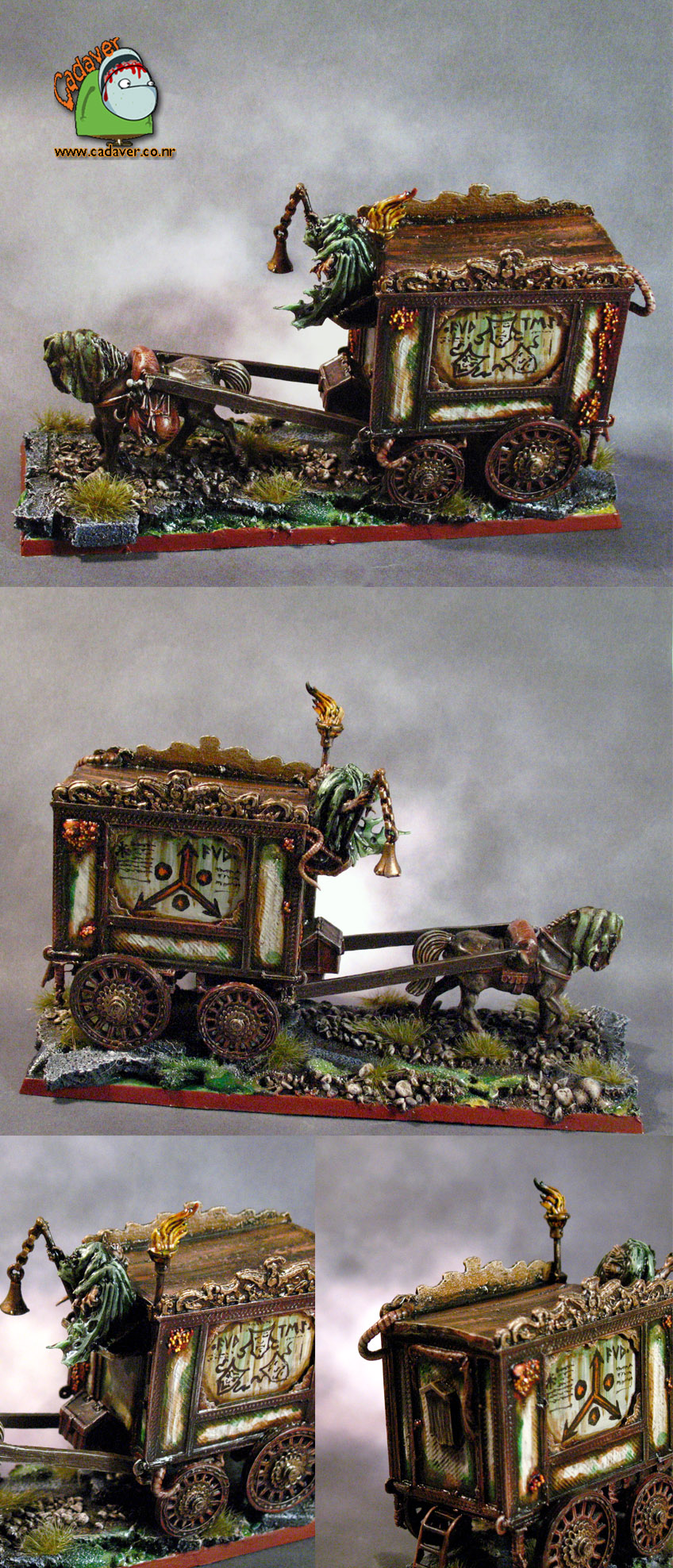 Carnival of Chaos Plague Cart