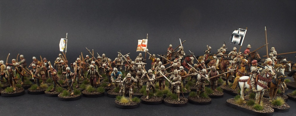 28mm Perry Miniatures The Retinue of Richard Tunstall of Thurland (Lancastrian)
