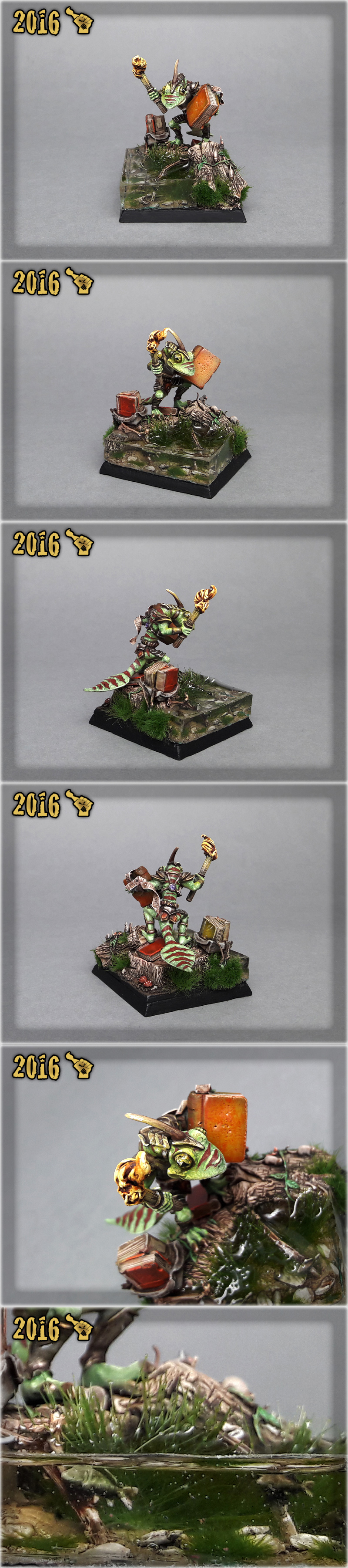 Scar_hand Painting - Gecko Mage by Nazroth