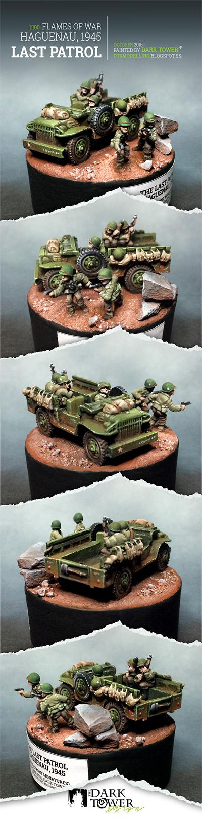 1:100 The Last Patrol, Haguenau, 1945 (Flames Of War, Battlefront Miniatures)
