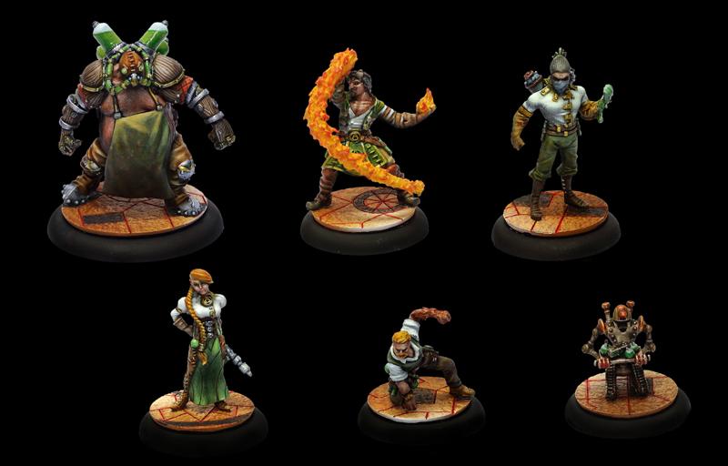 Guild Ball Team Alchemist ON SALE