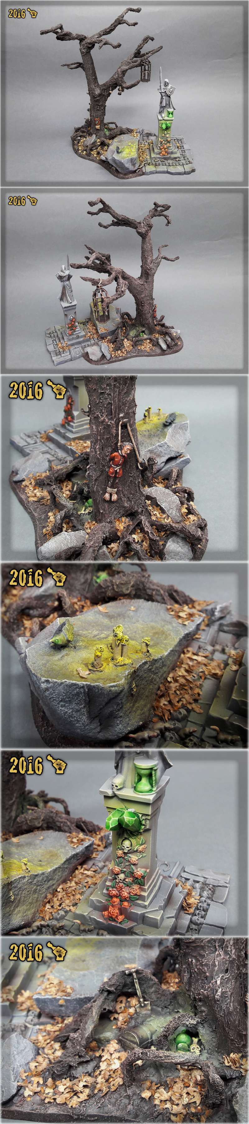 Scar_hand Painting - Mordheim Dead Tree by Nazroth