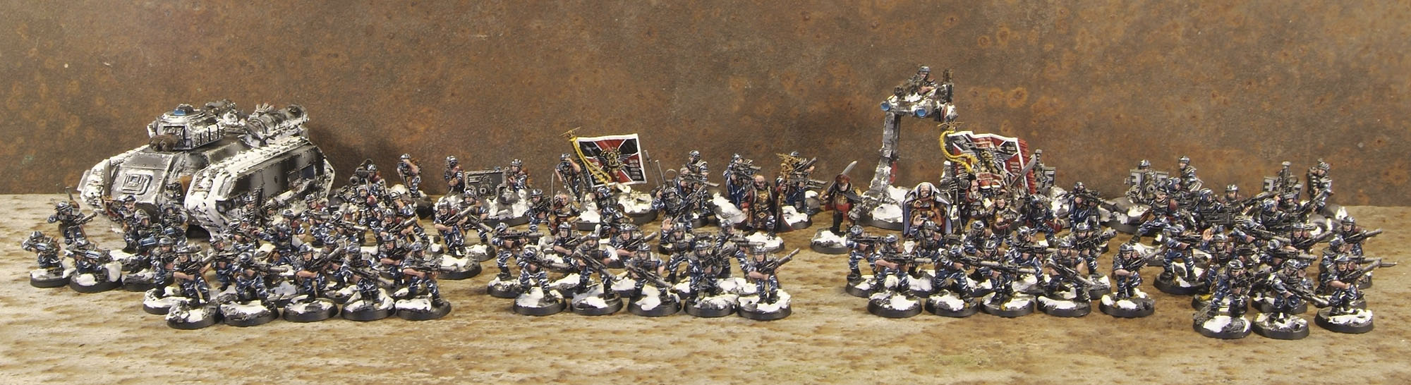 Imperial Guard Cadian Army