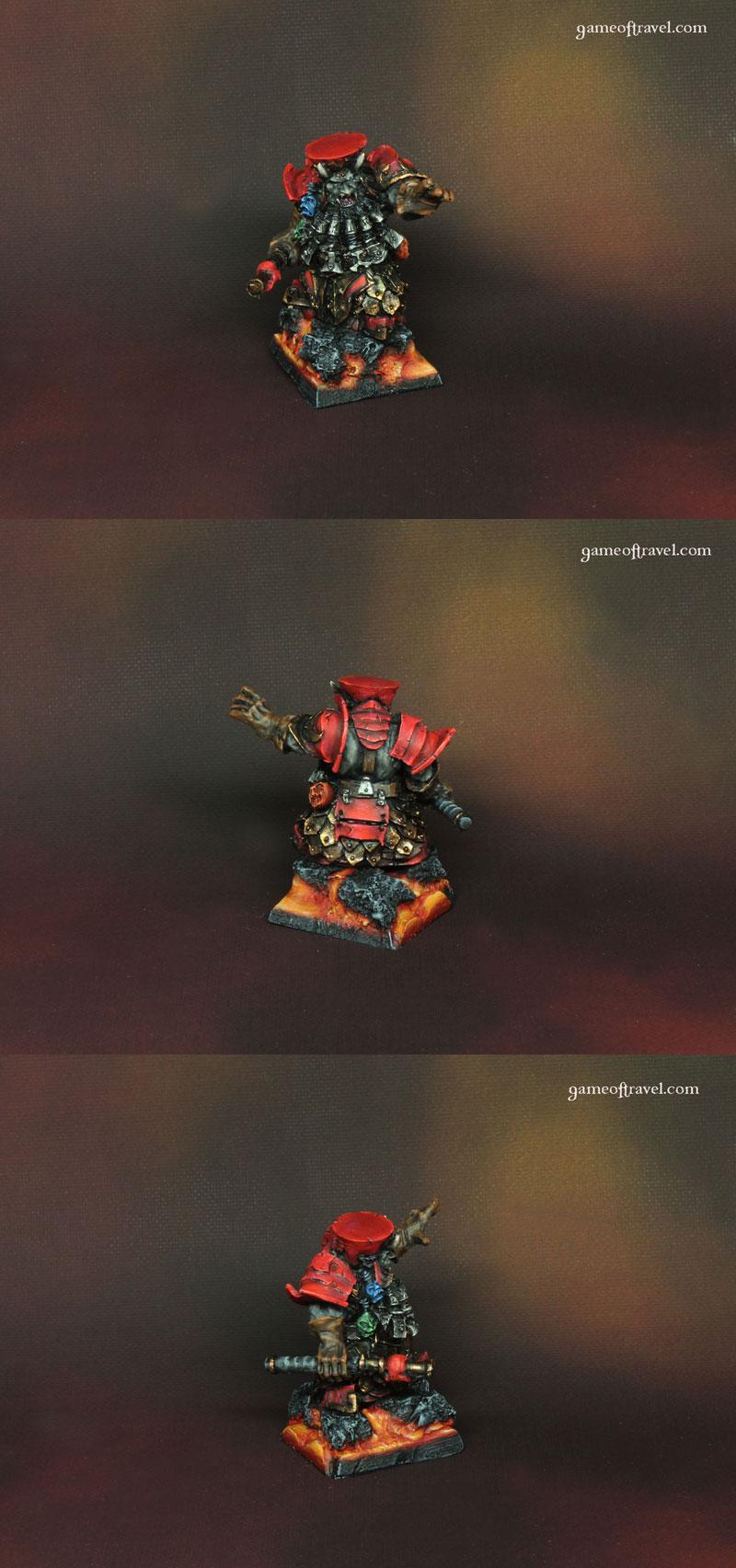 Chaos Dwarfs Daemonsmith