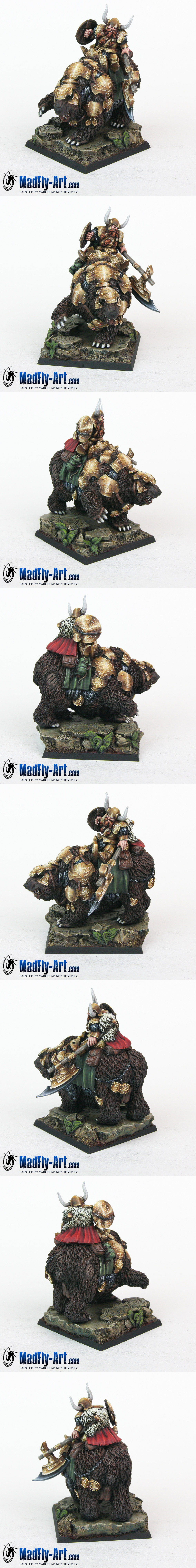 Dwarf Warrior on War Bear