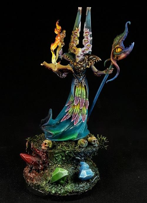 Gaunt Summoner of Tzeentch (Silver Tower Edition)