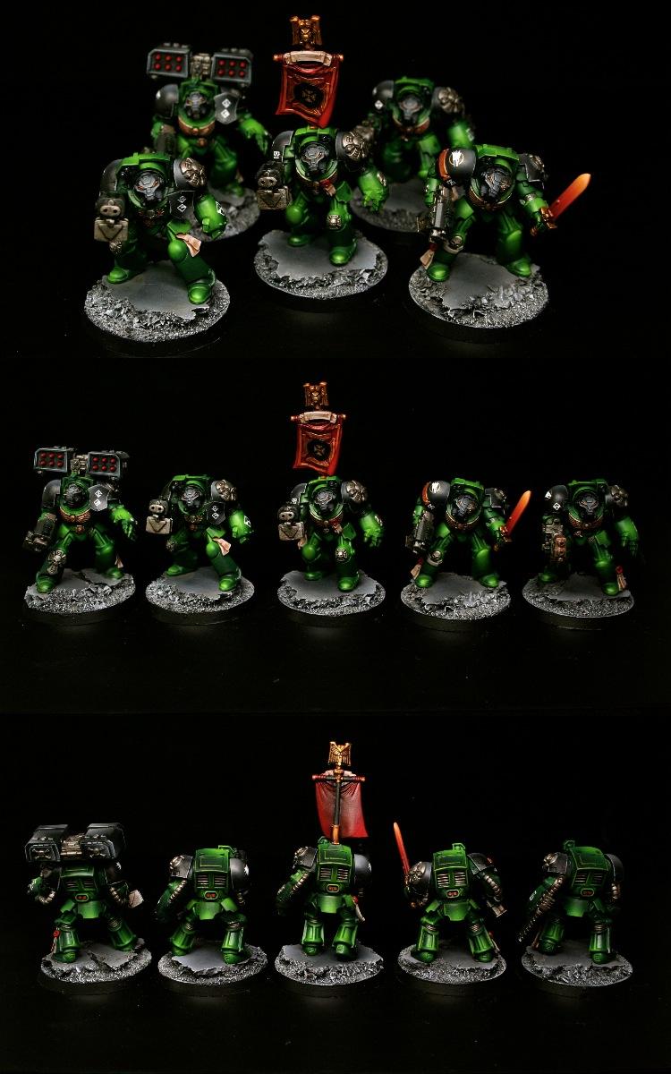 Salamanders Terminator Squad