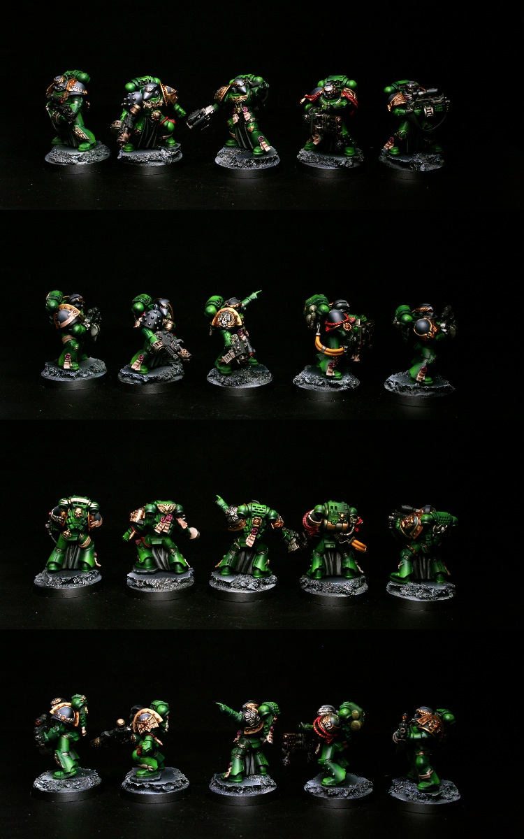 Salamanders Veteran Squad