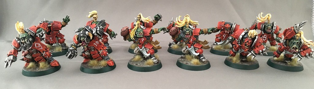 bloodbowl orc team 1
