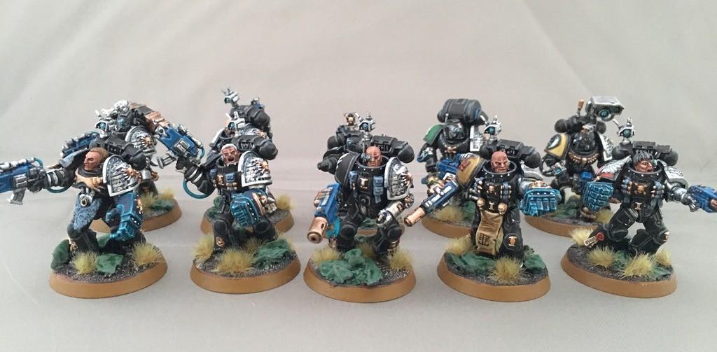 deathwatch veteran squad