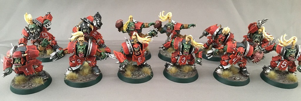 bloodbowl orc team 2