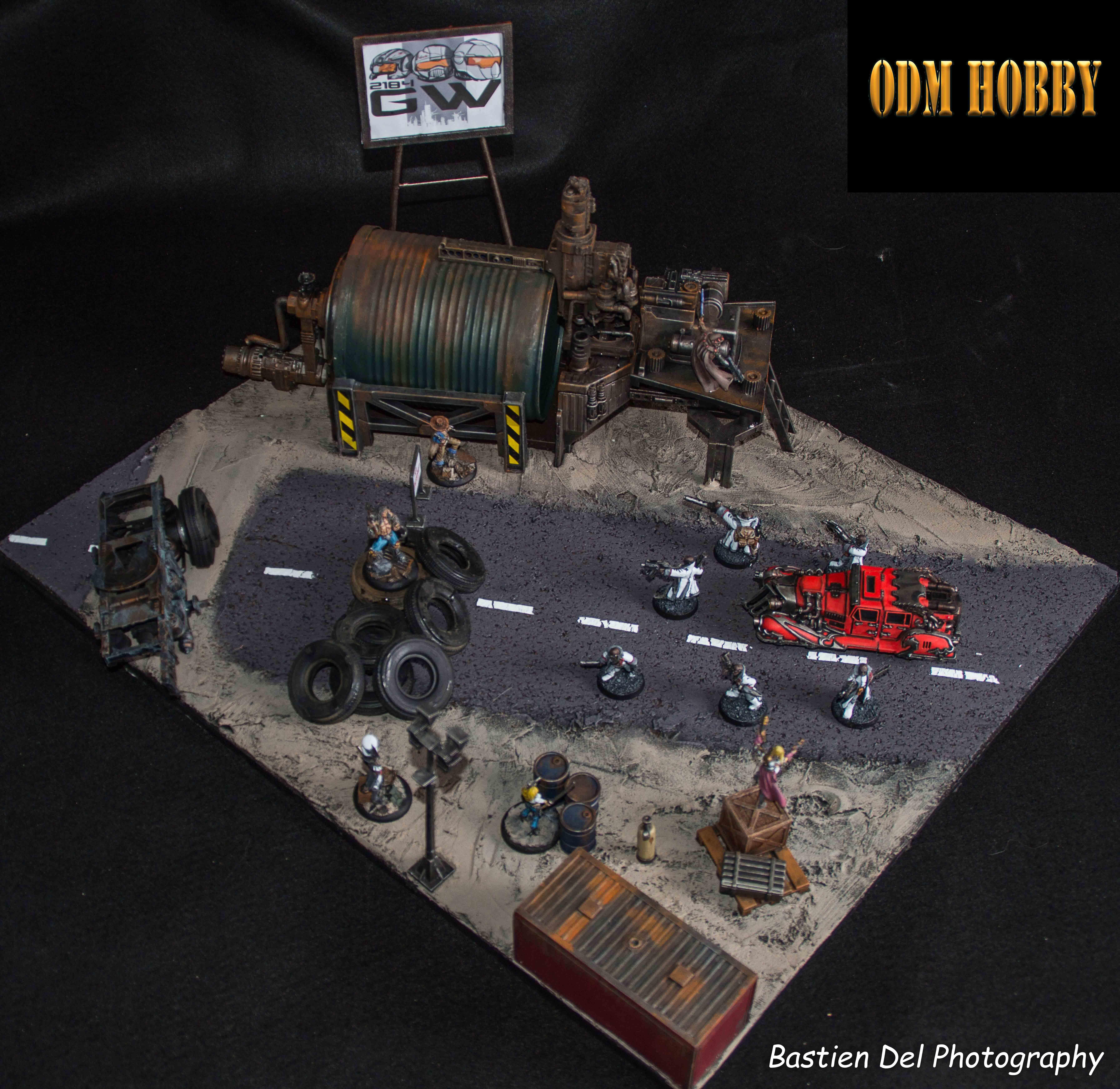 Generation war 2184-odm hobby-official game diorama