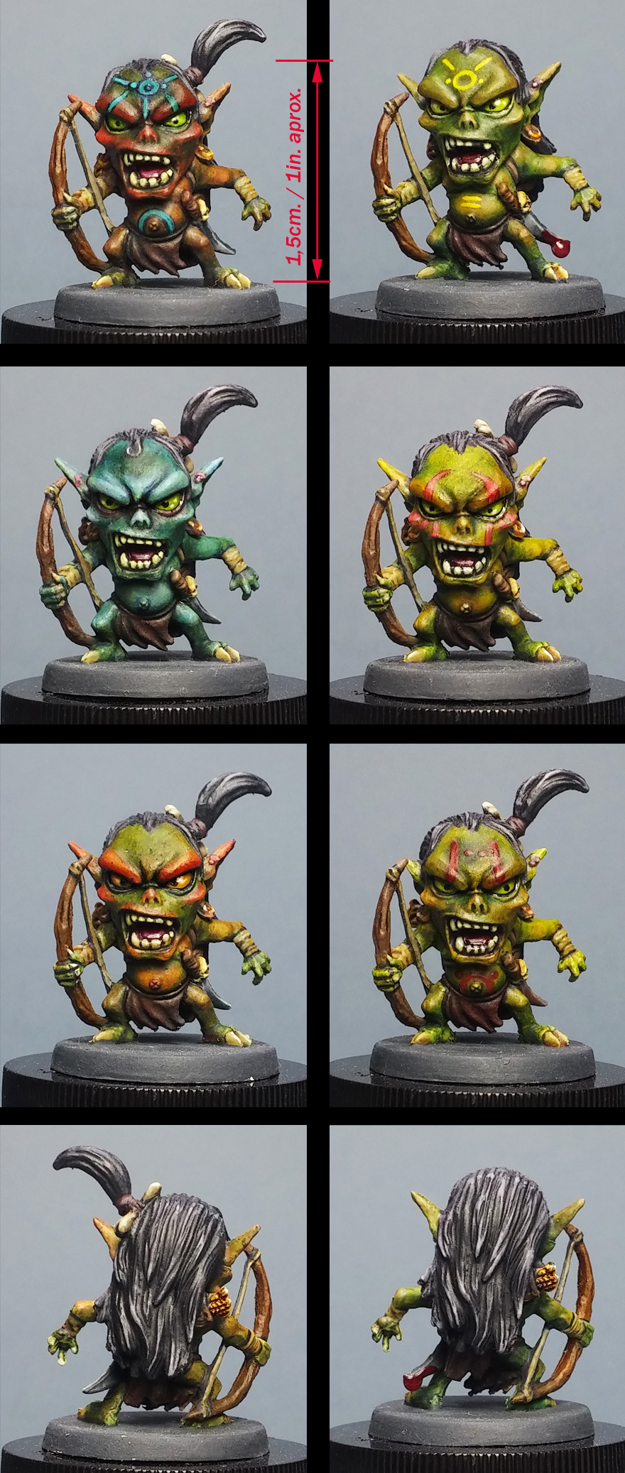 Goblin archers from Arcadia Quest