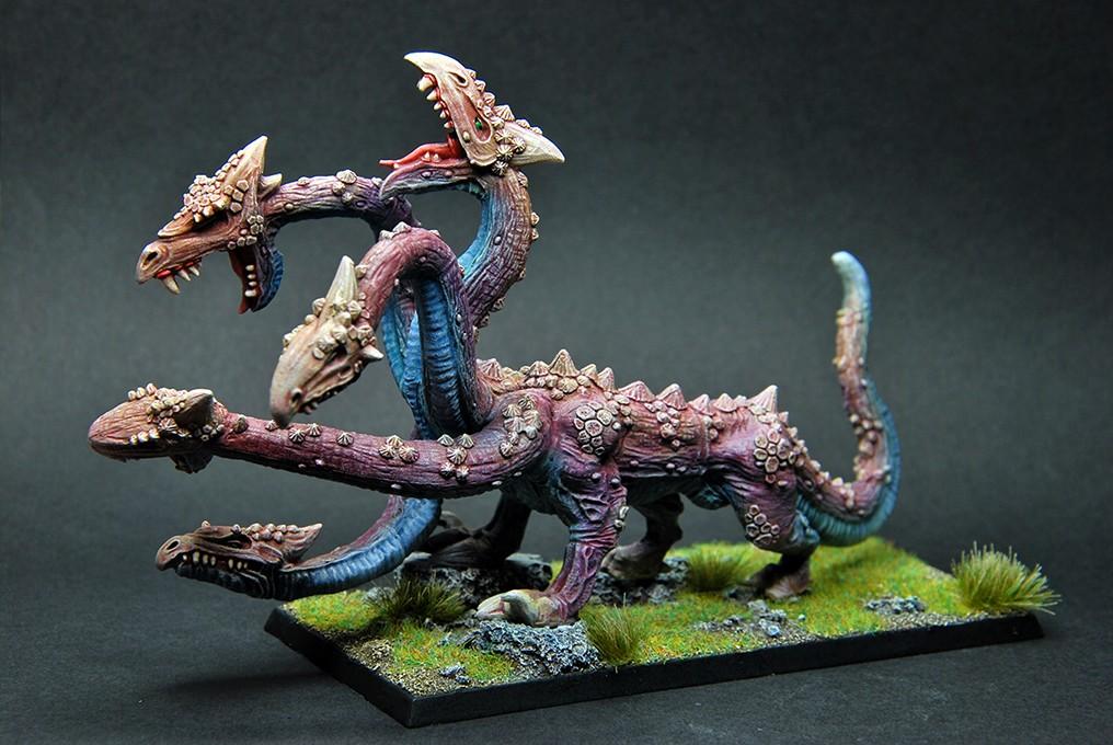 Citadel - Dark Elf War Hydra v1