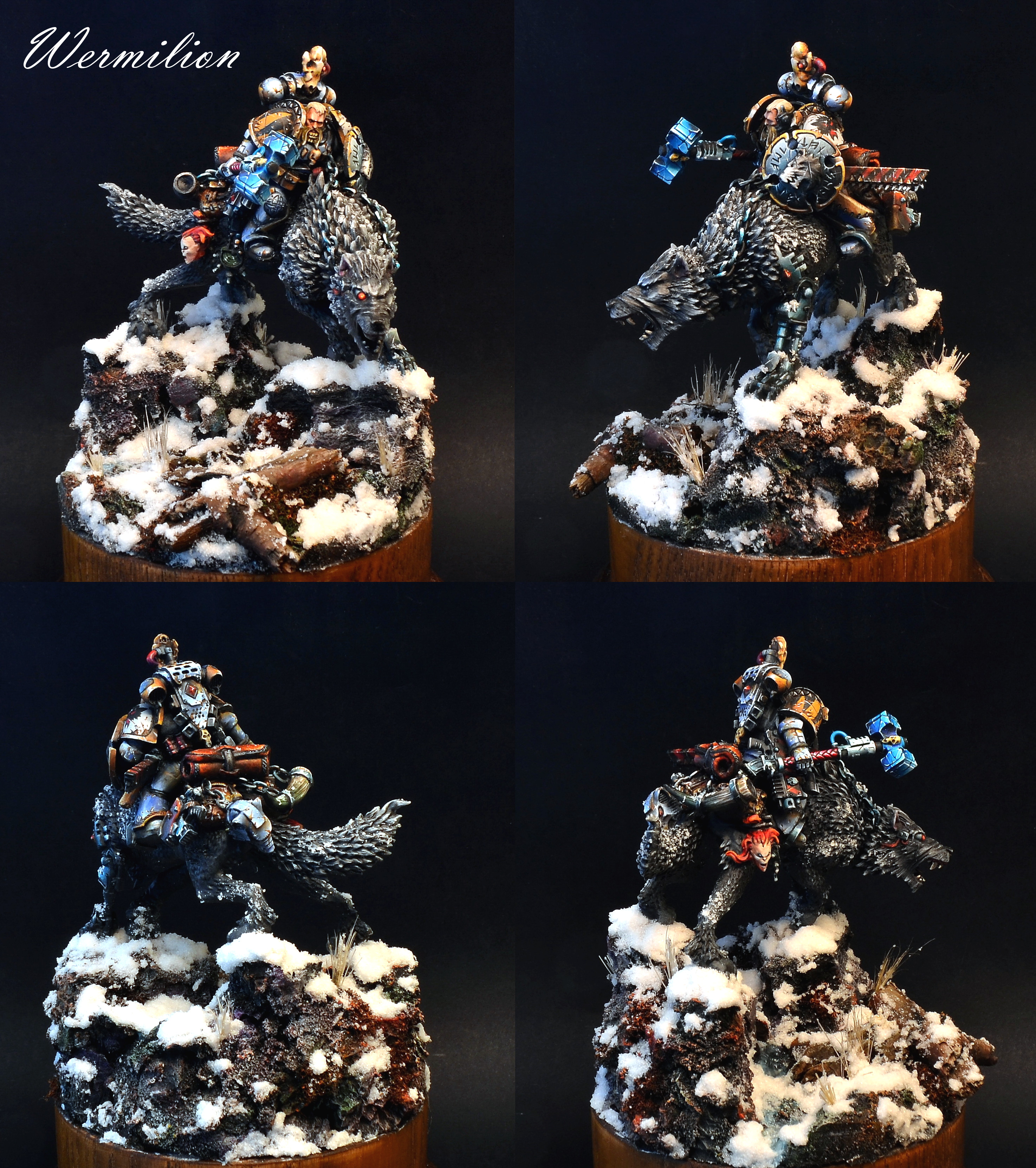 Space Wolves Cavalry (2)