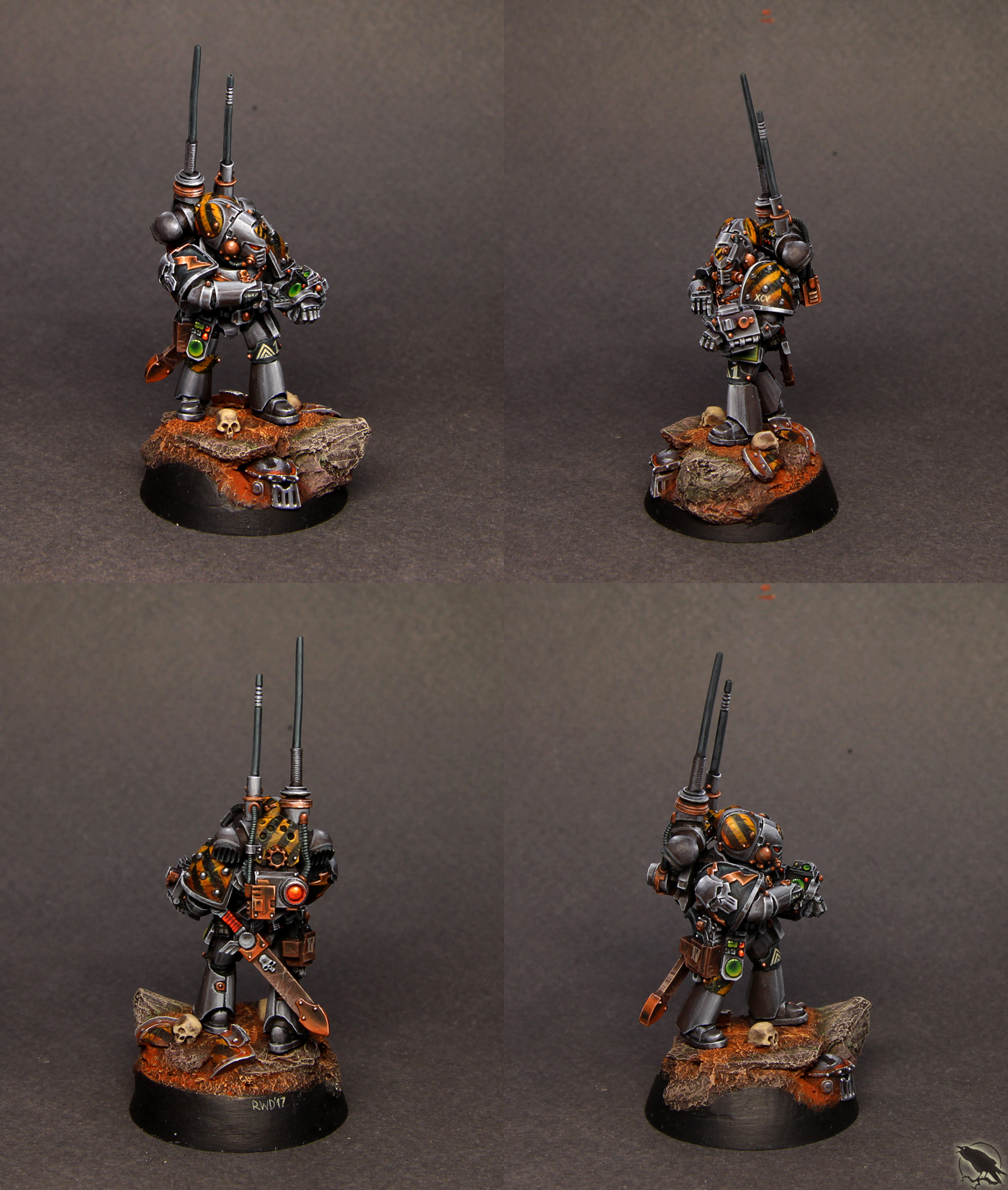 Iron Warriors XCV's Master of Signal