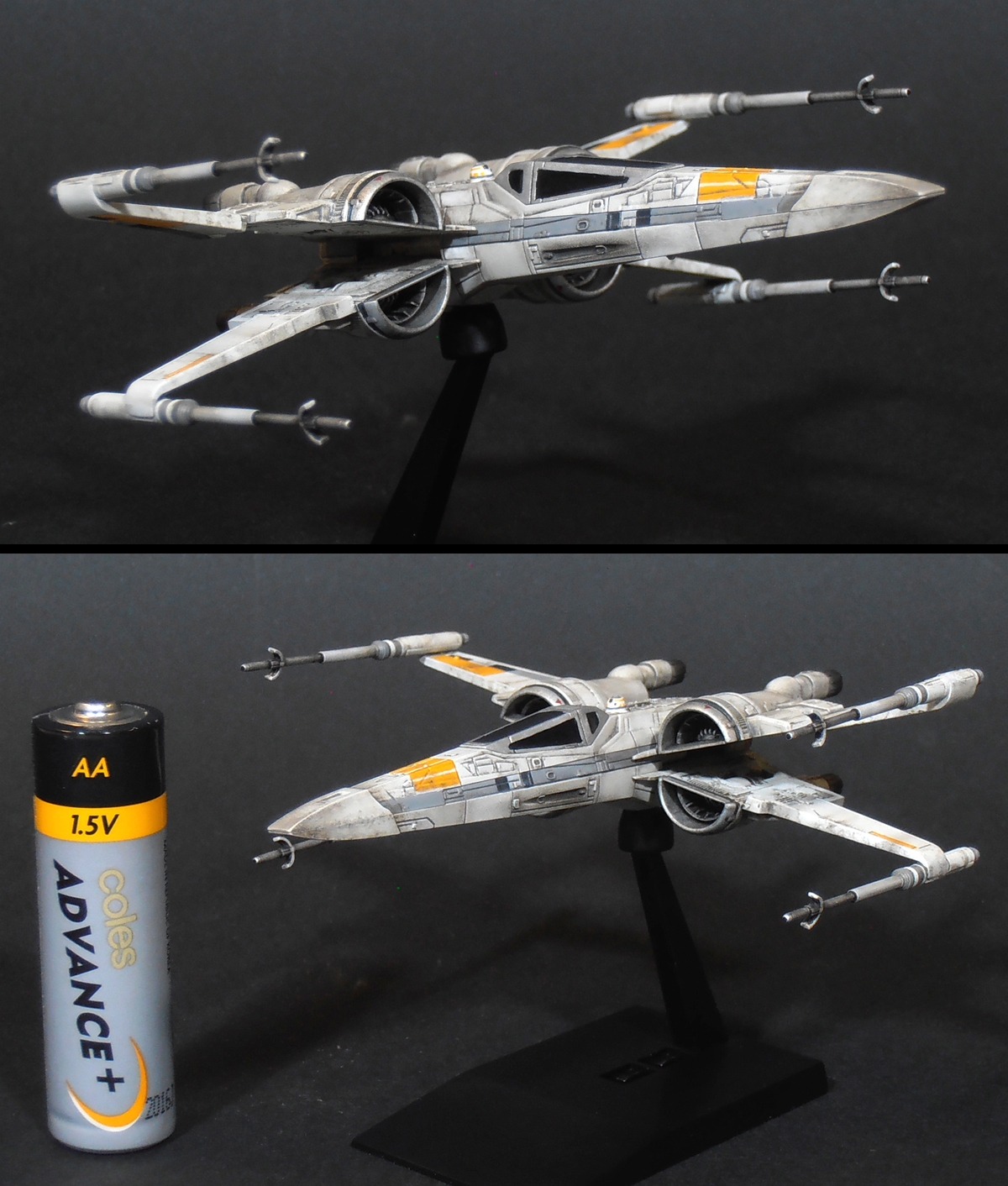 T 70 X Wing In Ralph McQuarrie Colours