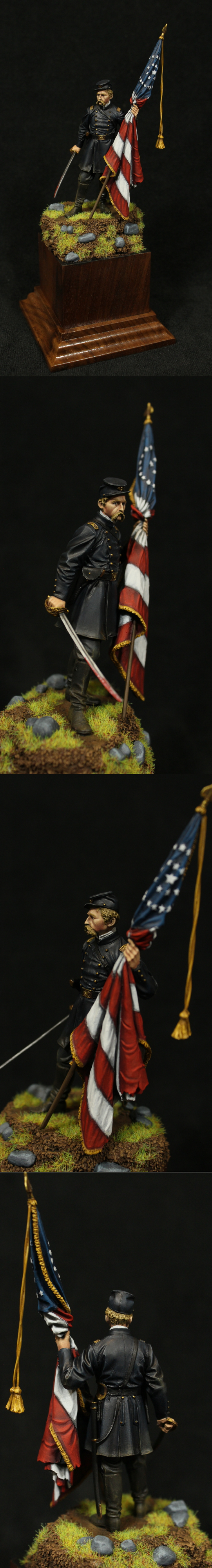Colonel Joshua Cahmberlain 75mm Resin from FeR Miniatures
