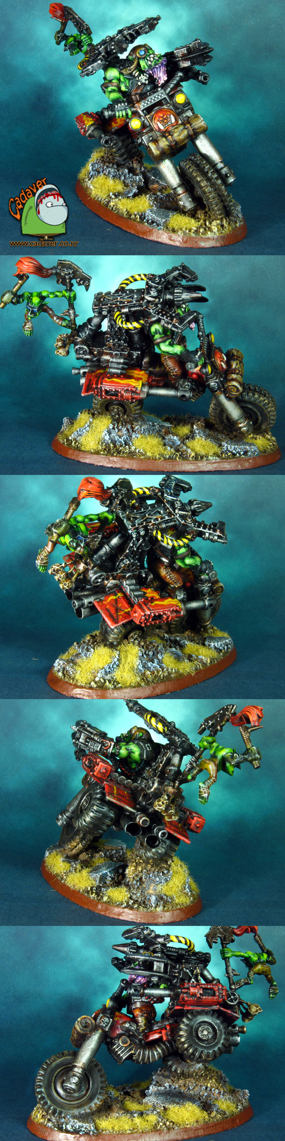 Space Orks Wazzdakka Gutzmek Evil Suns Speed Freak