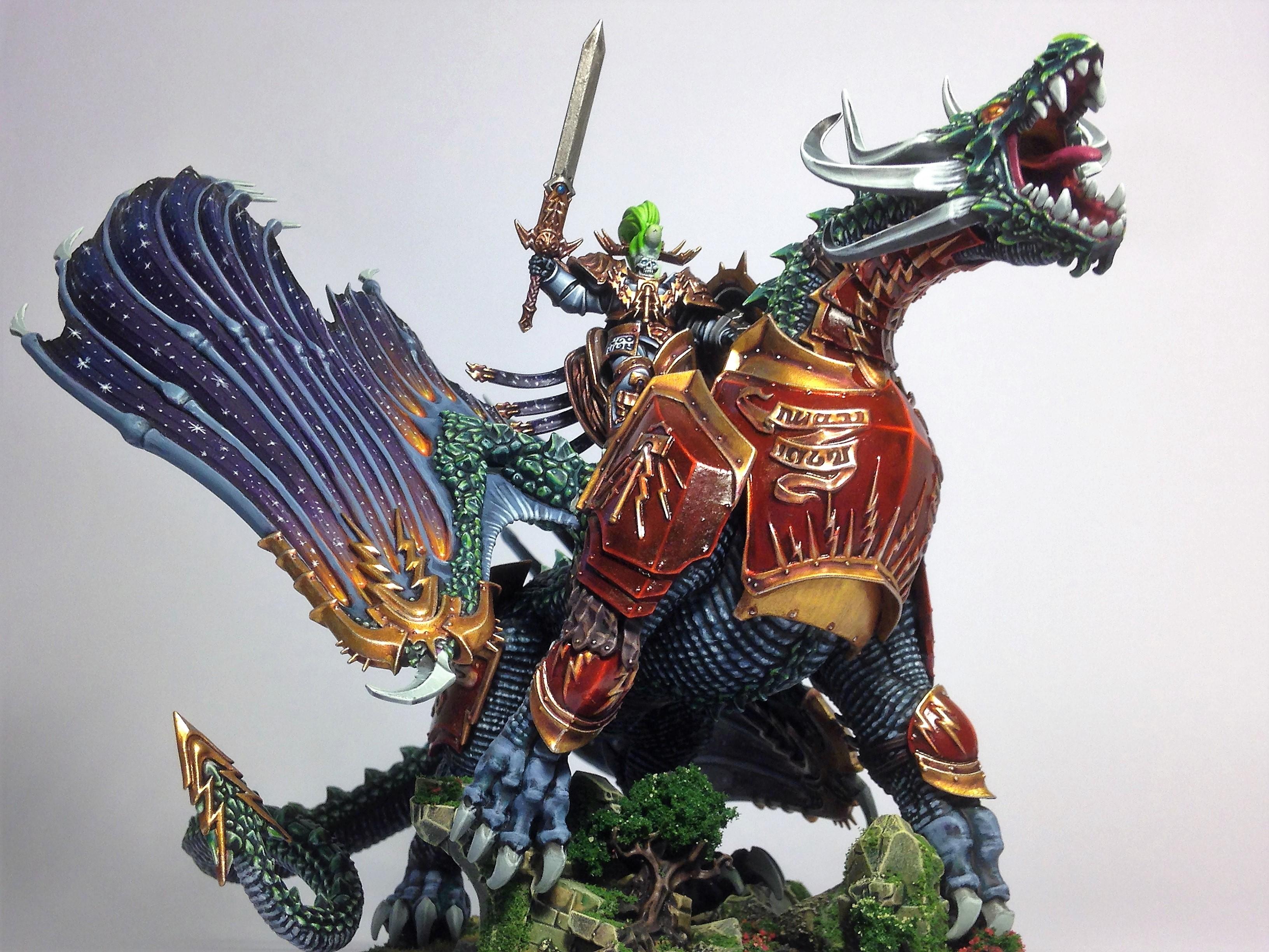 Skeleton Knight on Stardrake