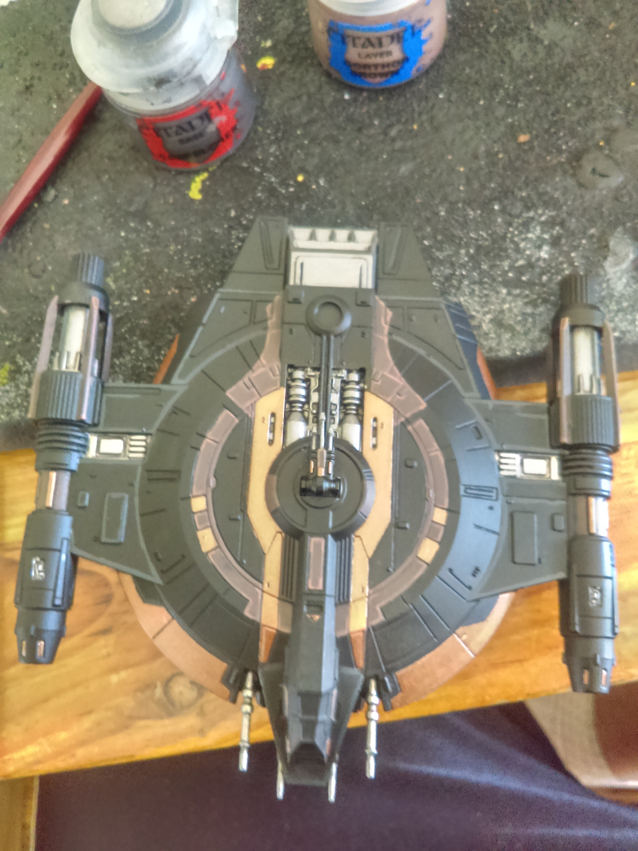 Shadow Caster Repaint (X-Wing Miniatures)