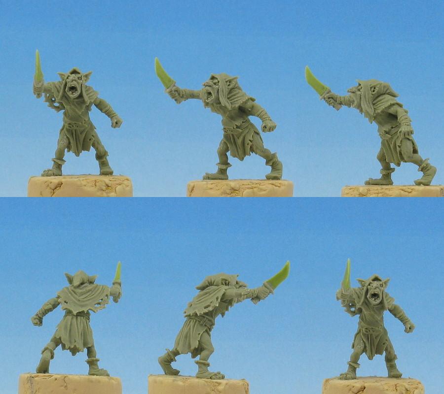 goblin with knife