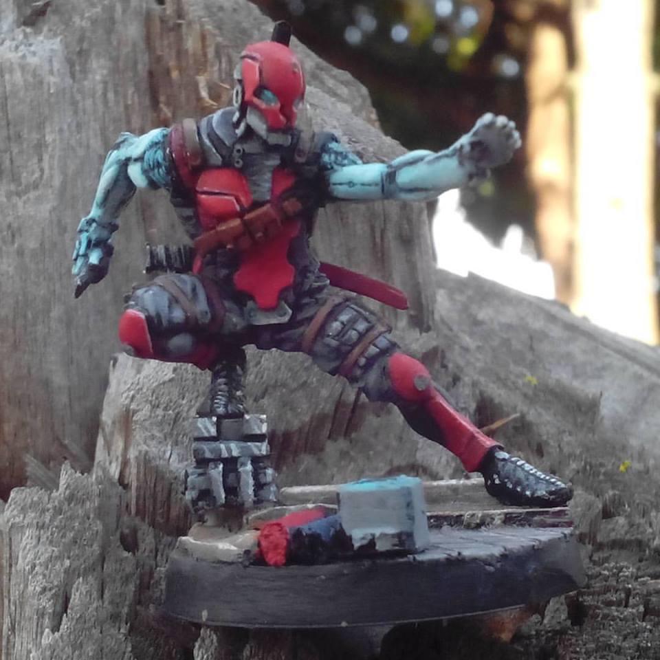 Señor Masacre, Mercenary