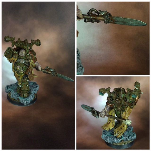 NURGLE CHAOS SORCERER FORGE WORLD DEATH GUARD