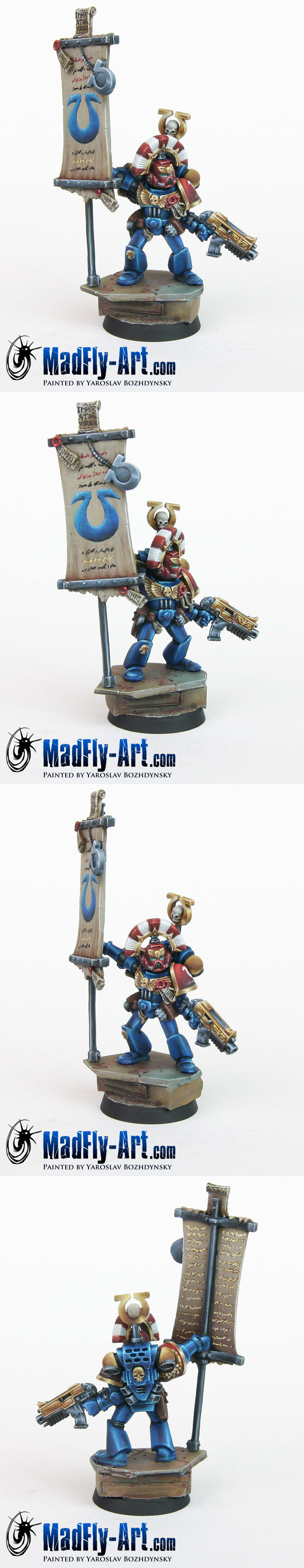 Ultramarines Standard Bearer