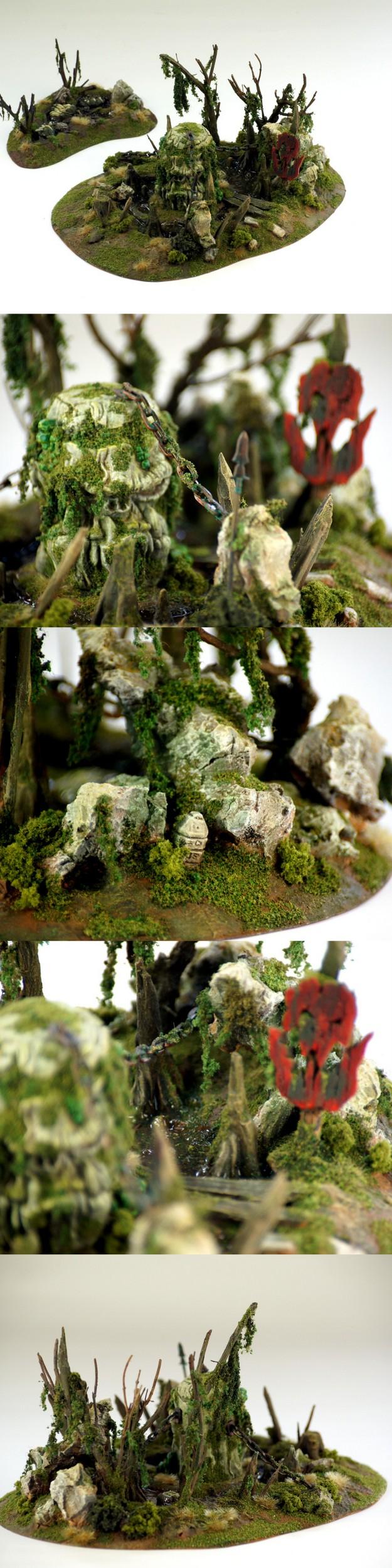 Orc Swamp Terrain