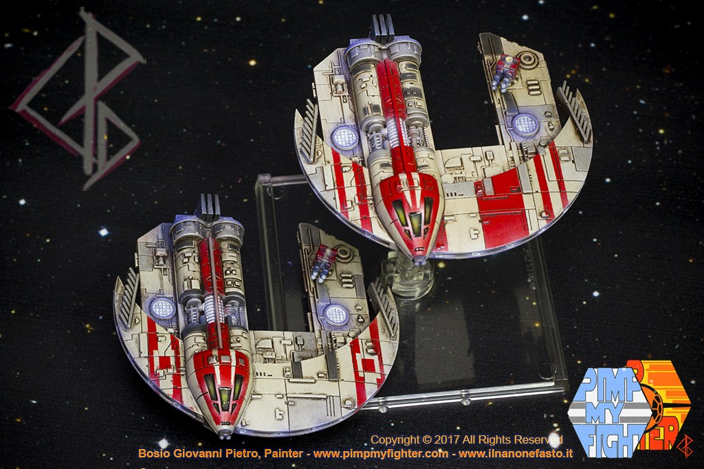 PIMPMYFIGHTER: JumpMaster - Punishing ONE Custom - FFG X-Wing repaint