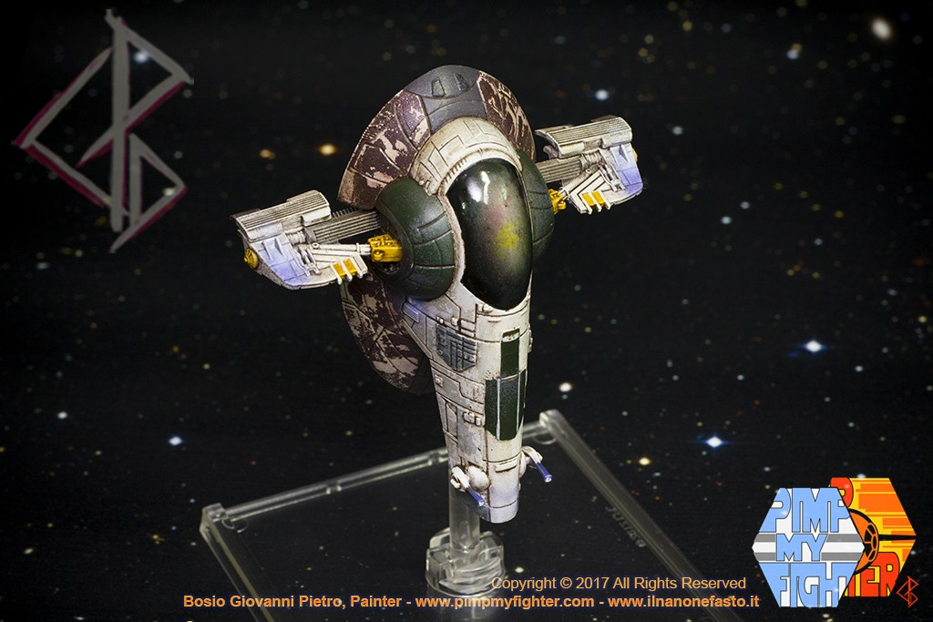 PIMPMYFIGHTER by ILNANONEFASTO Painting Workshop: PIMPMYFIGHTER: Firespry 31 - Slave 1 Boba Fett Cus