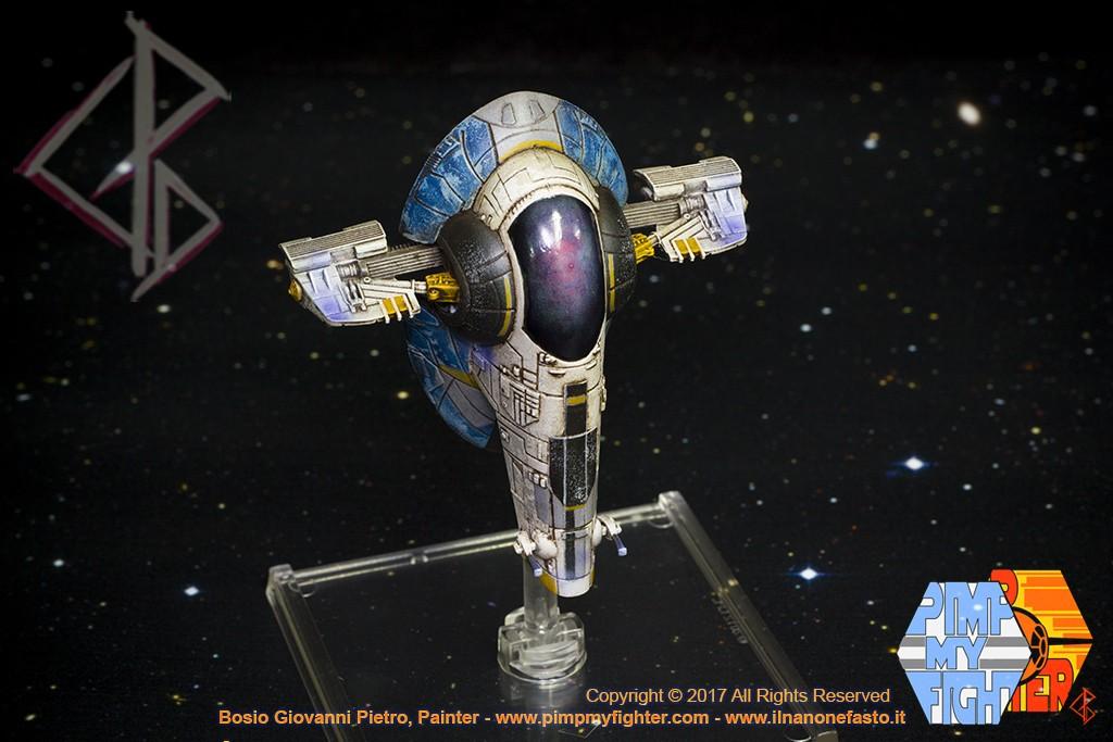 PIMPMYFIGHTER: Firespry 31 - Slave 1 Jango Fett Custom - FFG X-Wing repaint
