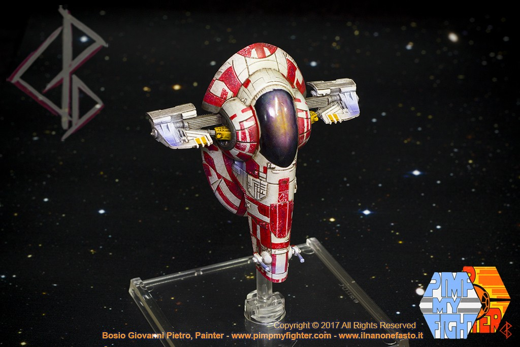 PIMPMYFIGHTER: Firespry 31 - Kath Scarlet Custom - FFG X-Wing repaint