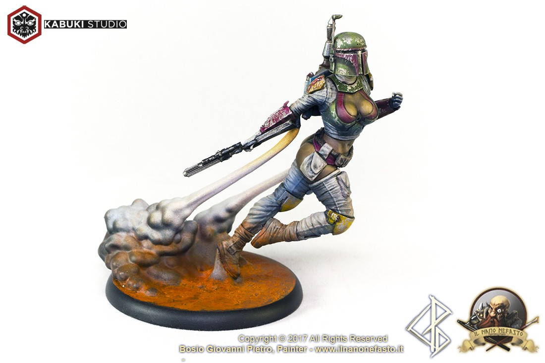 Kabuki Studio 75mm. (1/24) VIXEN HUNTER (Helmed) Boxart