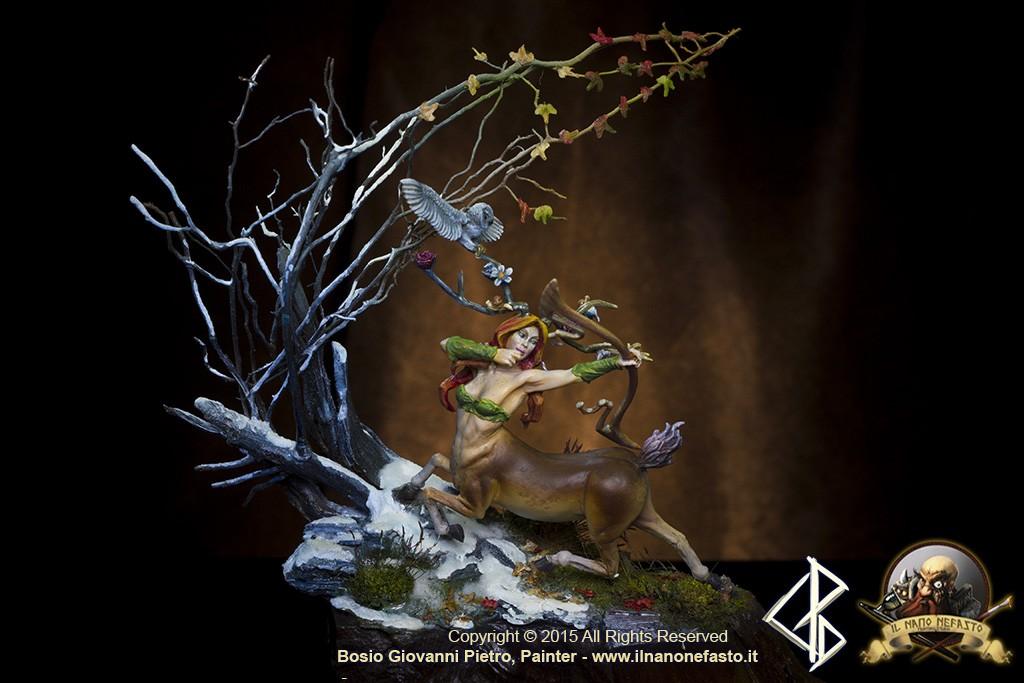 DIANA spring bringer, Aradia Miniatures Fantasy female centaur