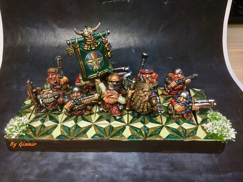 Warhammer Dwarf thunderers