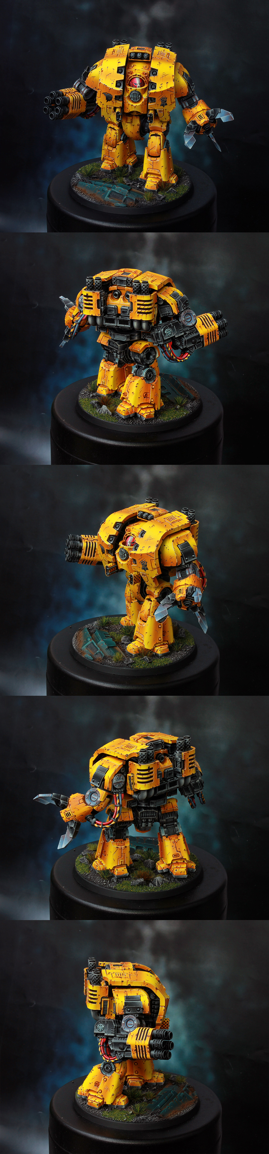 Imperial Fists Space Marine Leviathan Dreadnought