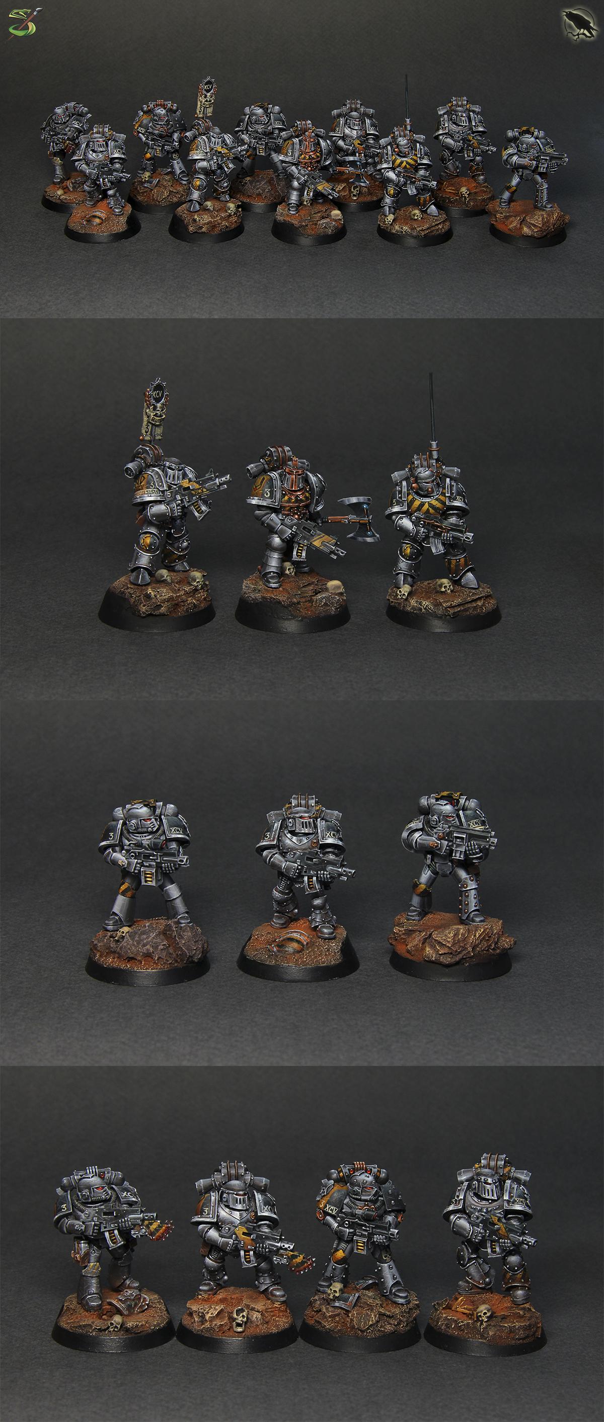 Iron Warriors Legion Tactical Squad XCV Grand Company