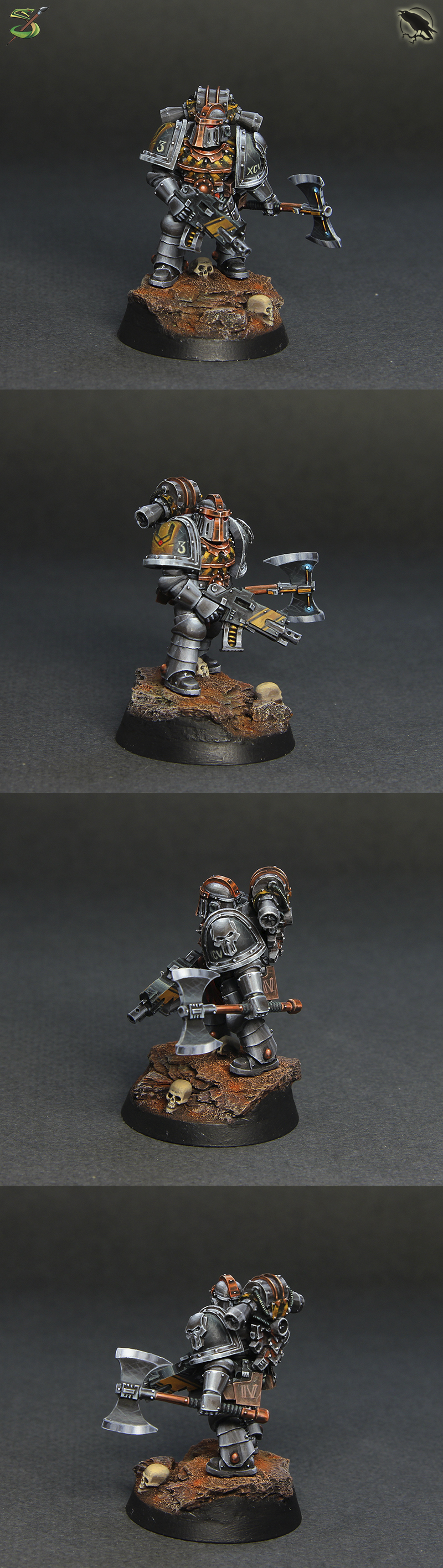 Iron Warriors Veteran Sergeant