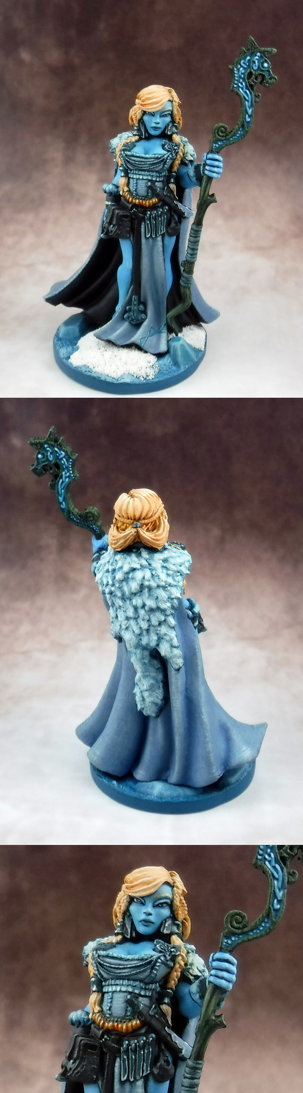 Frost Giant Queen - Reaper Bones 3 Kickstarter