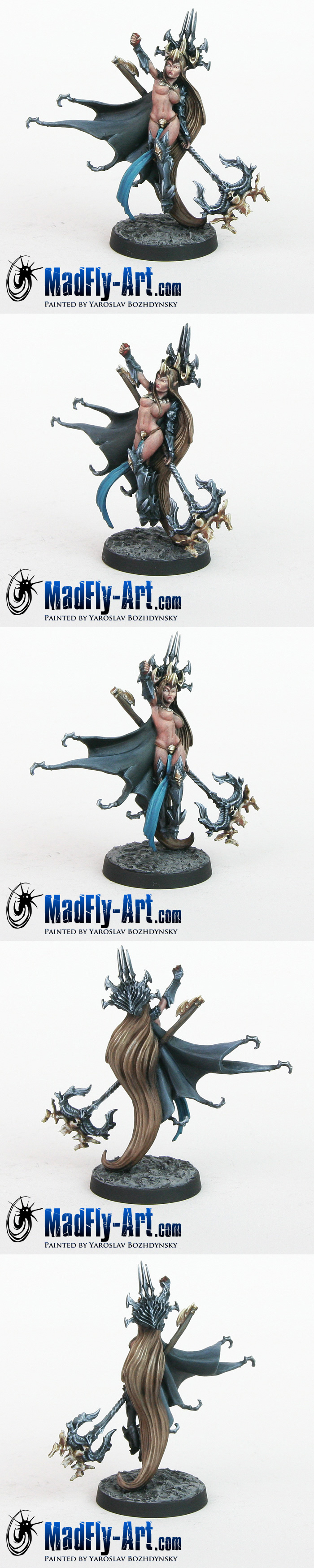 Shiveryah, Dark Elves Sorceress