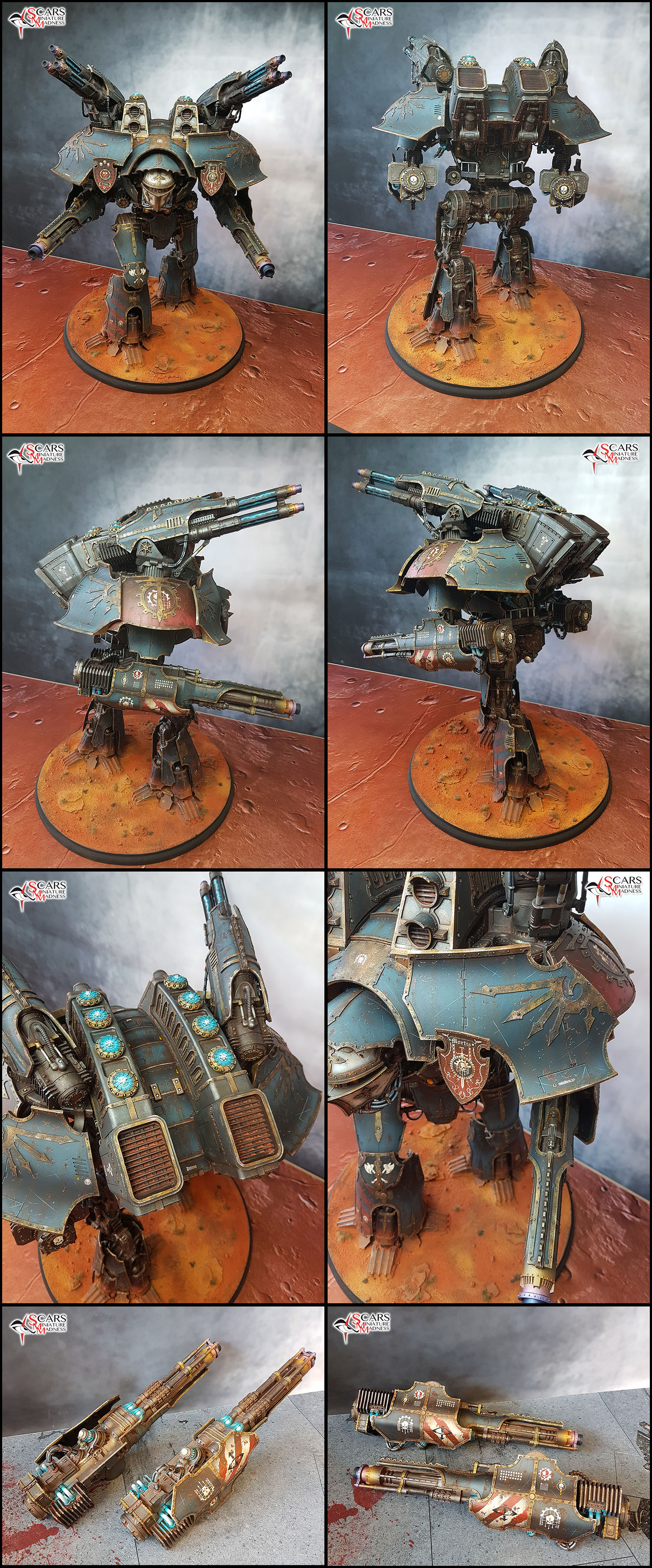 Legio Mortis Warlord titan