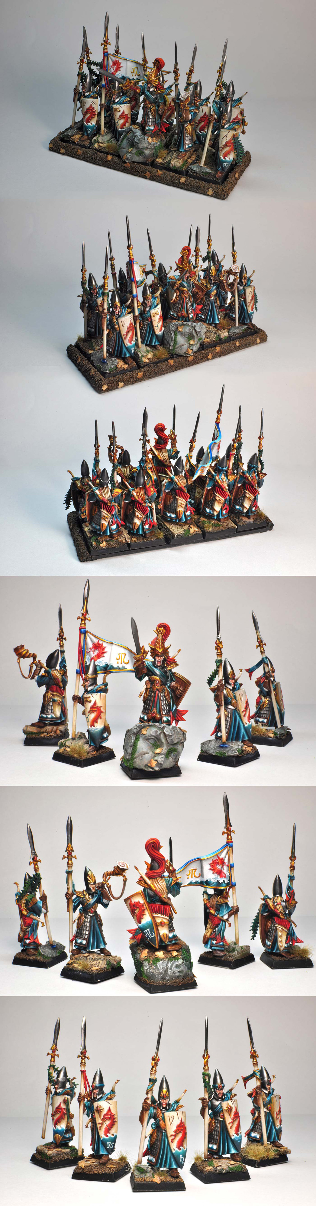 High Elf Lothern Sea Guard