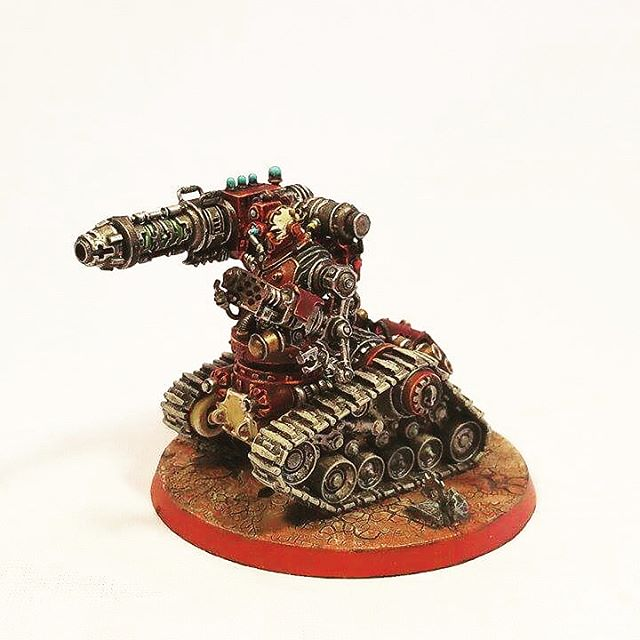 Kataphron Destroyer, can't wait to get back to my Ad Mech.