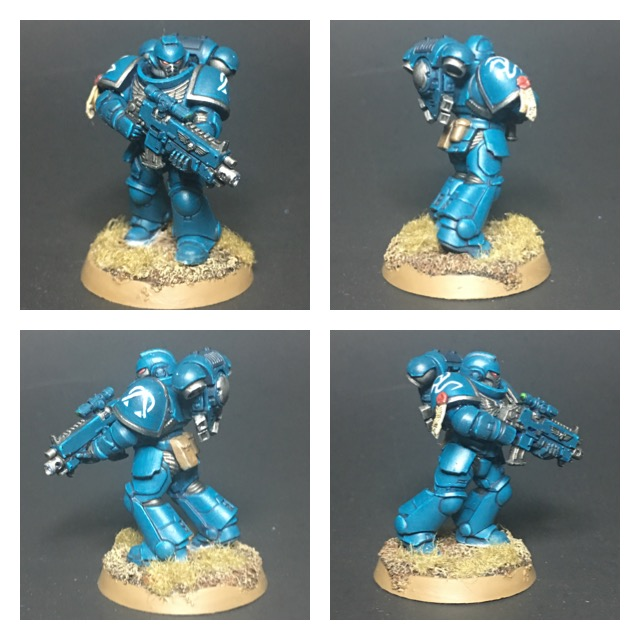 Alpha Legion Primaris Intercessors Marine